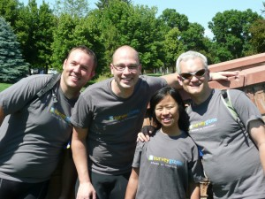 SurveyGizmo Team Photo for Bike MS