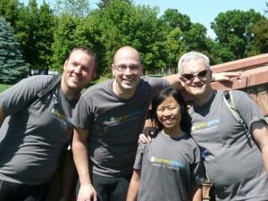 SurveyGizmo Team Photo for Bike MS
